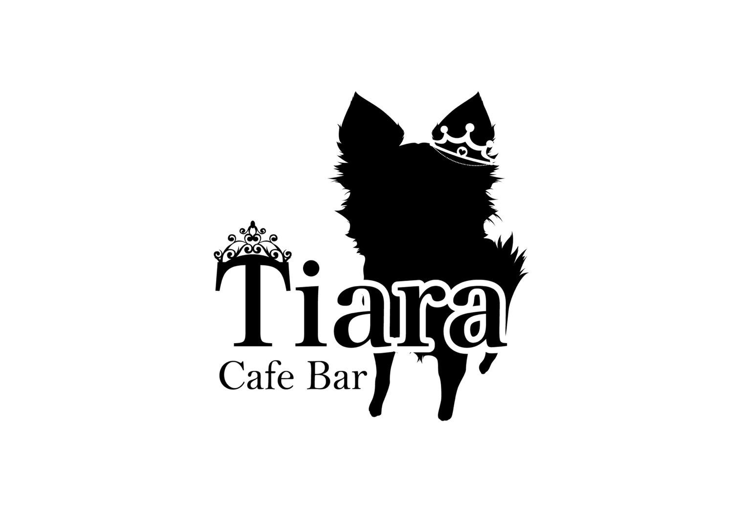 ロゴ 大分県宇佐市 CafeBar Tiara カフェバルティアラ